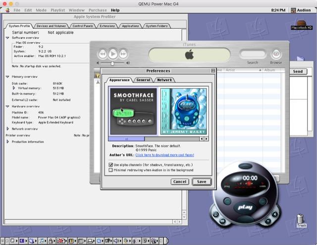 Apps under Mac OS 9